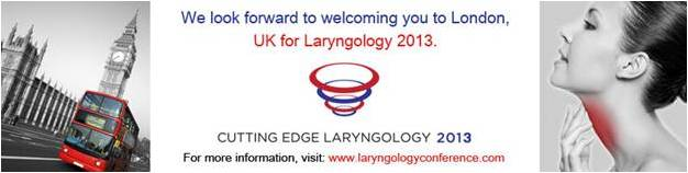 Cutting Edge Laryngology 2013