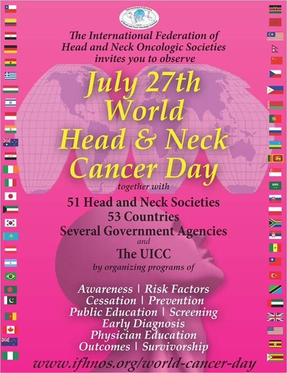 World Head & Neck Cancer Day